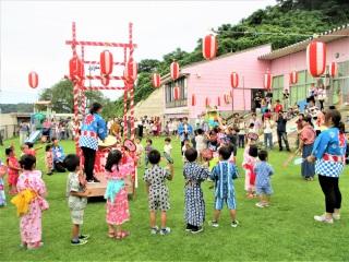 かが幼稚園夏祭り 7月