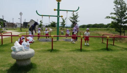ひまわり組の散歩 6月