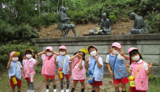 「かがで学ぶ」教室 首洗い池と浮御堂と、、 6月18日
